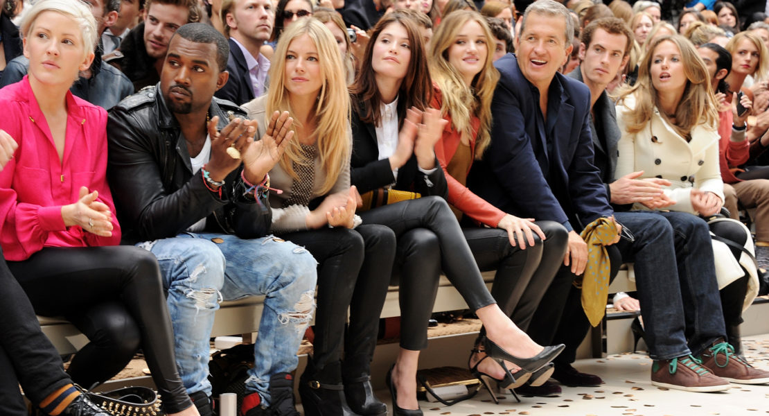 Burberry Prorsum Spring Summer 2012 Womenswear show in London's Hyde Park