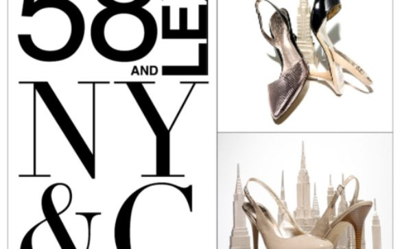 "New York & Company launches new shoe line ""58 AND LEX"""