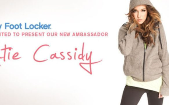 Lady Foot Locker Announces Katie Cassidy As Brand Ambassador