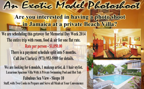 Model Photoshoot in Jamaica. Are you interested?