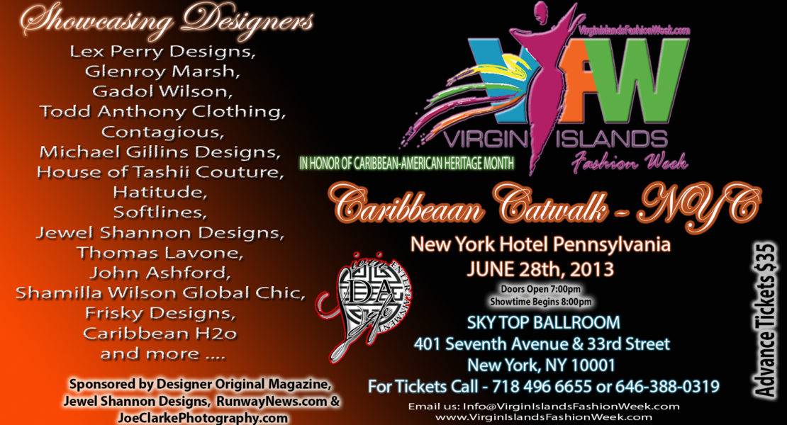 "ALISON HINDS"" PERFORMING LIVE ON FRIDAY JUNE 28TH AT THE 2ND ANNUAL CARIBBEAN CATWALK"