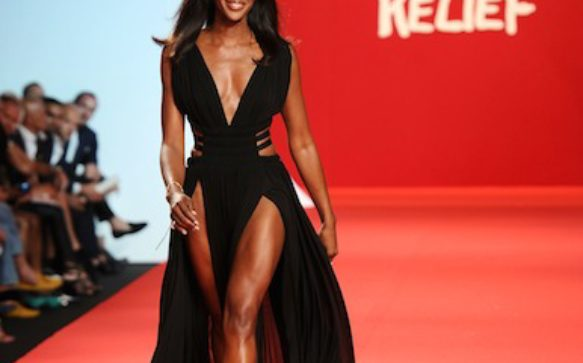 Naomi Campbell  to stage 2 Fashion for Relief Shows in February 2015