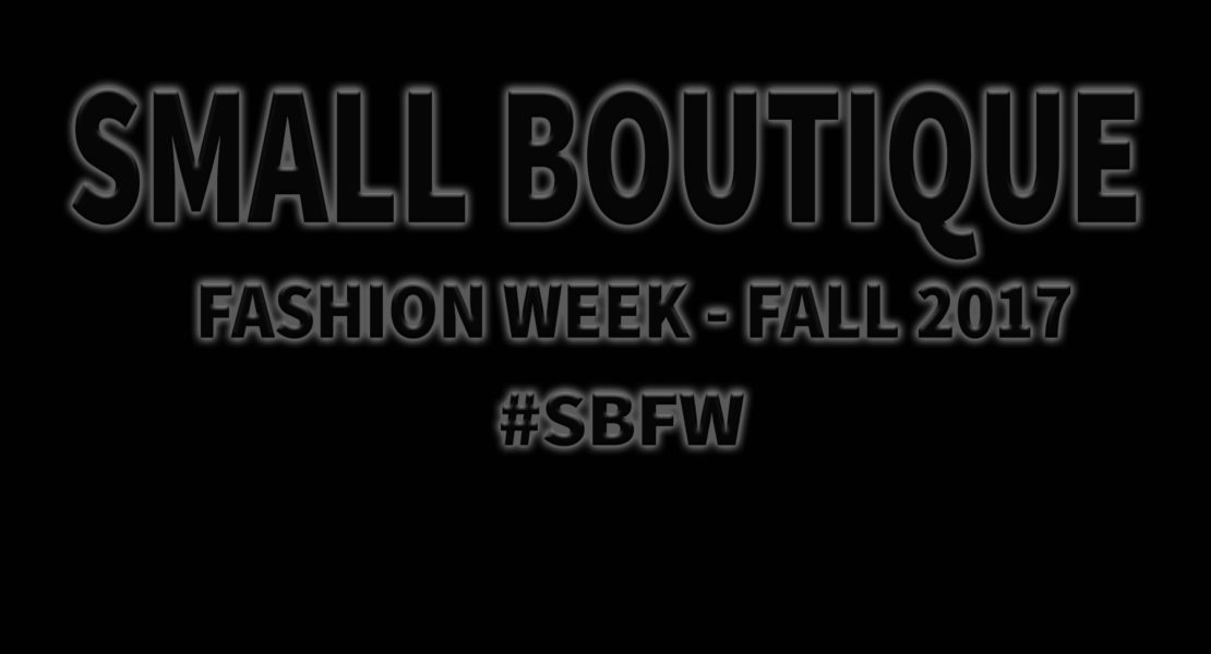 Small Boutique Fashion Week – Another astounding success!!!